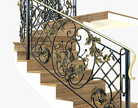 3D model Forget spiral stair