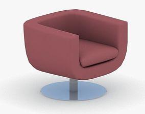3D asset 0827 - Armchair