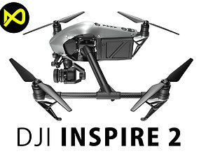 3D quadcopter DJI Inspire 2
