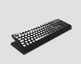 3D PBR Keyboard