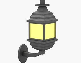 Exterior Lamp 05 3D asset