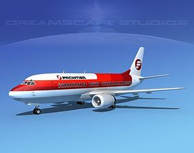 Boeing 737-300 Frontier 1 3D