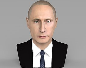 Vladimir Putin bust ready for full color 3D