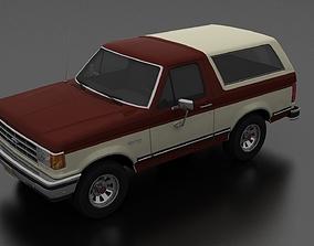 Bronco 1987 3D model