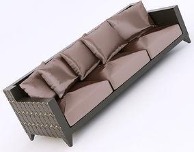 Roberto Ventura ELLISSE1 LAC sofa 3D model