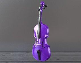 Violet Violin 3D