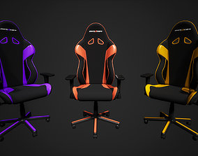 Dxracer gaming chair lowpoly game asset realtime