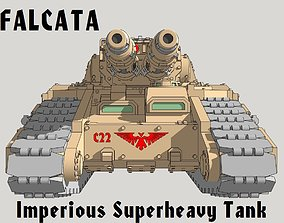 6mm and 8mm Falcata Superheavy 3D print model