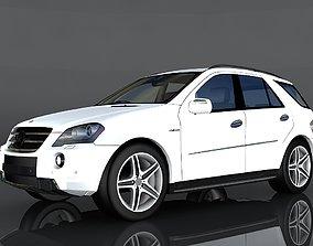 3D model realtime Mercedes Benz ML 63