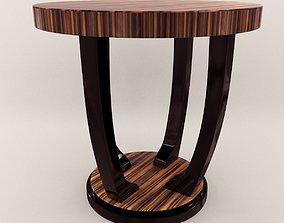 3D Side table - Art Deco style 3d