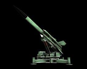 3D Bristol Bloodhound SAM Missile
