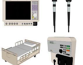 Hospital Room - Medical Equipment room 3D model