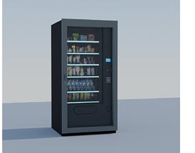Vending Machine 3D animated