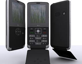 3D LG KM380 Max 2010