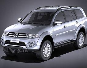 Mitsubishi Pajero Dakar 2015 VRAY 3D model
