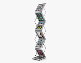 conference 3D model Brochure Stand