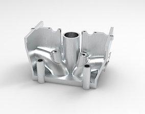 3D print model Car or Motorcycle Engine Cylinder Head