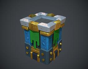 Clash of Clans ArcherTower 3D asset