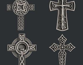 3d STL models for CNC rourer set celtic cross