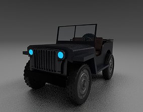 willy jeep 3D model