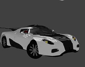 3D model Koenigsegg One 1