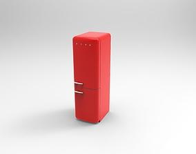 3D model fridge SMEG