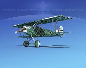 Fokker D-VII V07 Luftwaffe 3D model