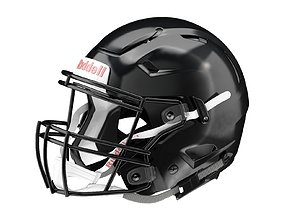 Riddell SpeedFlex Adult Football Helmet with 3D model