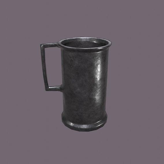 Medieval Metal Cup