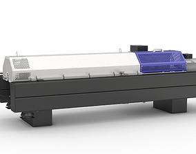 3D industrial Decanter centrifuge