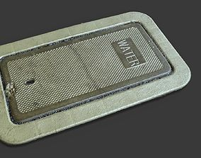 3D model Concrete Water Utility Cover