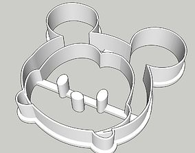 Tsum Tsum Mickey Cookie Cutter 3D print model