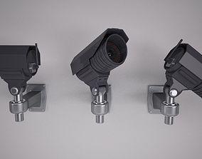 3D model Security Camera security
