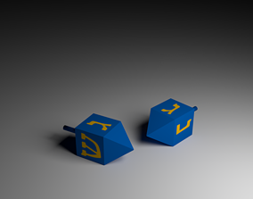 Some Dreidels 3D model