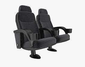 3D Fabric Cinema Seating