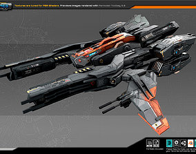 SF Fighter RX2 3D asset
