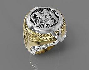 3D printable model MB ring