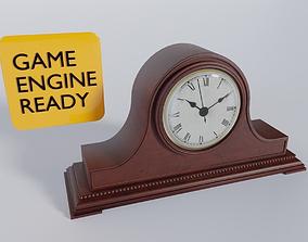 Vintage Mantel Tabletop Clock 3D