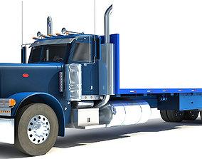 car Flatbed Truck 3D model