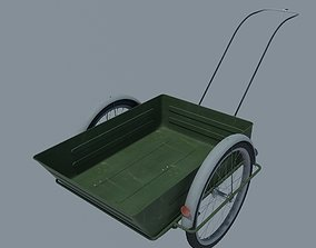 Bicycle trolley 3D model