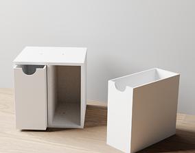 003M LA Units 2 Drawer Vertical Storage 3D printable model