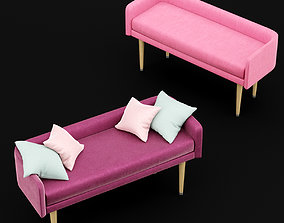 3D bed bench 4