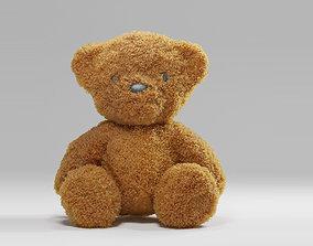 well modeled and uv unwrapped teddy bear VR / AR ready