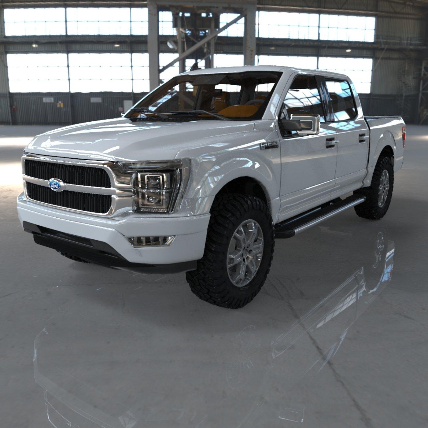 Ford F150 2021 | CGTrader