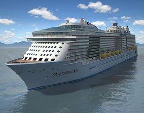 3D model Quantum Of The Seas VRAY