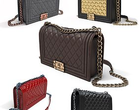 3D model Luxury Chanel Purse