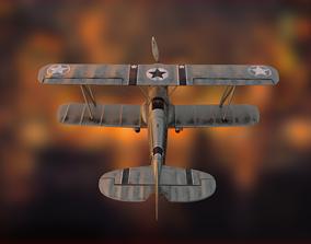 Avia B-534 3D model VR / AR ready