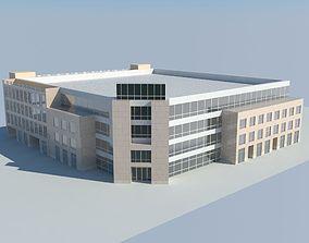 3D model Enterprise Parking Building