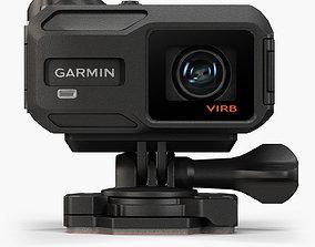 3D asset Garmin VIRB X action camera