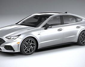 Hyundai Sonata US N-Line 2020 3D model